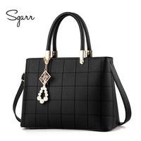 2016 New Plaid Women Shoulder Bag Fashion Women S Handbag High Quality European And American