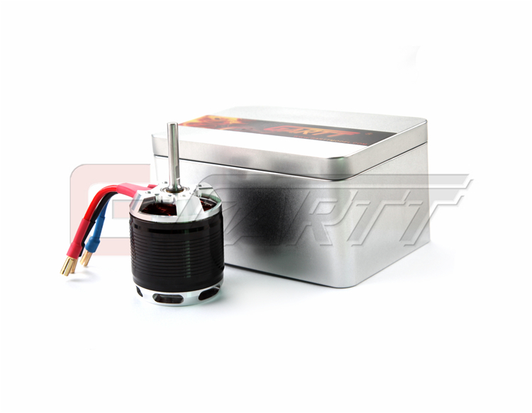 ФОТО Gleagle HF 530KV 4500W Brushless Motor With Steel Case For 700 Align Trex RC Heli Black