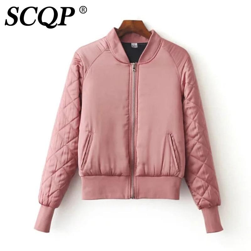 Ladies Pink Quilted Jacket