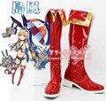 Kantai colección shimakaze cosplay Shoes Boots por encargo 2676