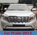 6 UNIDS Pintura ABS Parrilla Delantera Para Toyota Land Cruiser Prado FJ de Detección de Insectos 150