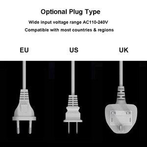 Image 4 - 40 واط سريعة تهمة 3.0 الذكية 8 منافذ USB وحدة شاحن LED عرض شحن سريع محول الطاقة سطح المكتب قطاع آيفون سامسونج