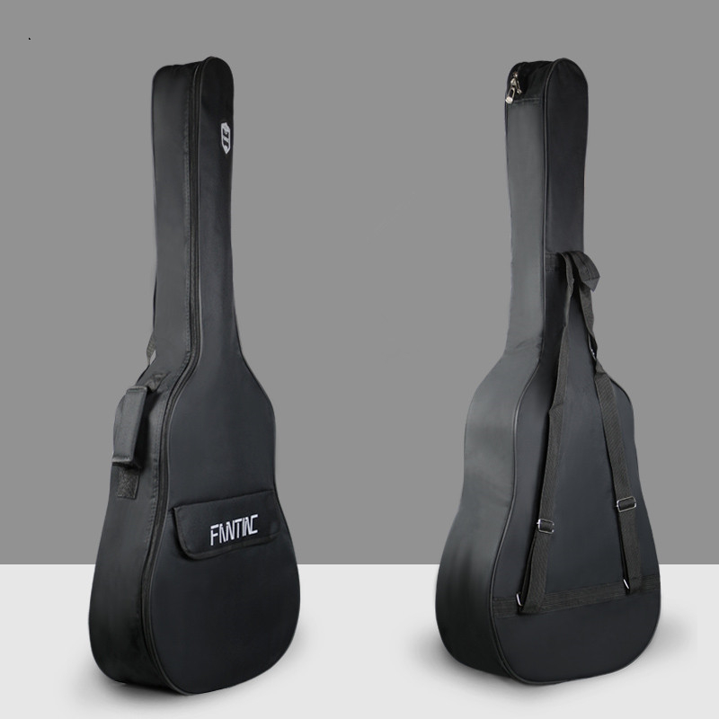 Waterproof Folk Guitar Bag Pad Cotton Thickening Backpack Double Straps Soft Case Guitar Gig Bag Parts For 38 39 40 41inchWaterproof Folk Guitar Bag Pad Cotton Thickening Backpack Double Straps Soft Case Guitar Gig Bag Parts For 38 39 40 41inch