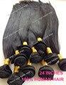 113 г уток волос натуральный цвет 6А Необработанные Волосы Бразильский Прямые Волосы Утка Оптом