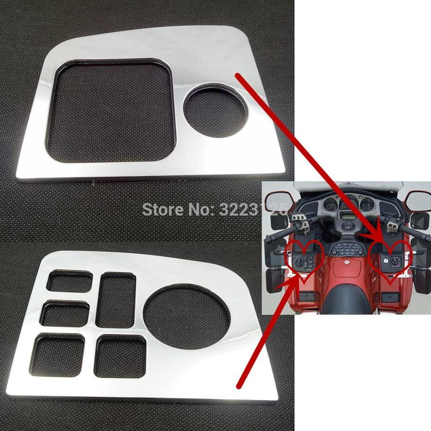 High Quality Accessories For Honda Goldwing GL1800 GL 1800 2001-2005 Left & Right Side Fairing Control Accent Decoration