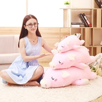 1PC New Pink Color 50CM Kawaii Soft Stuffed Animal Pig Toy Baby Plush Toys Plush Doll Kids Birthday Gift