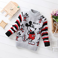 Casual Kids Boys Girls Sweater 2017 Winter Cartoon Sweater Baby Outwear Pattern Girl Boy Computer Knitted Sweater