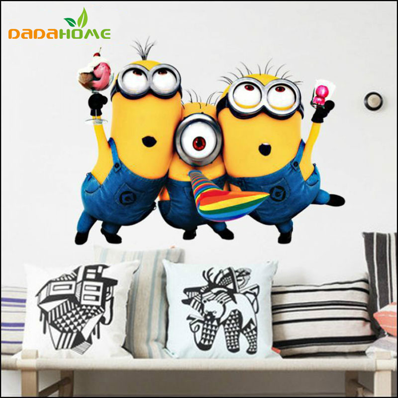 Minion Wall Decor aliexpress : buy free shipping new design despicable me 2