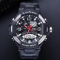 OTS Men Watches 2017 Luxury Brand Digital Sport Men S Watch Electronic Wrist Watches Male Analog