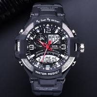 OTS Men Watches 2017 Luxury Brand Digital Sport Men S Watch Electronic Wrist Watches Male Analog