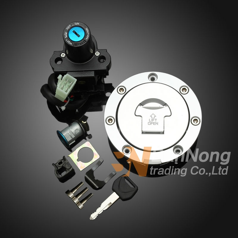 Motorcycle Ignition Switch Gas Cap Seat Key Lock Set For Honda CBR600 RR CBR 600 F5