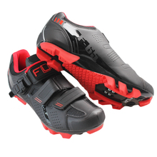 Mountain bike riding shoes double density insoles four-color men and women section of the bicycle lock shoes F-65