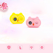Buy Mini Cartoon Owl Shape Smart Camera for Kids Boys Girls Photos Video Birthday Festival Gift Kids Children's camera directly from merchant!