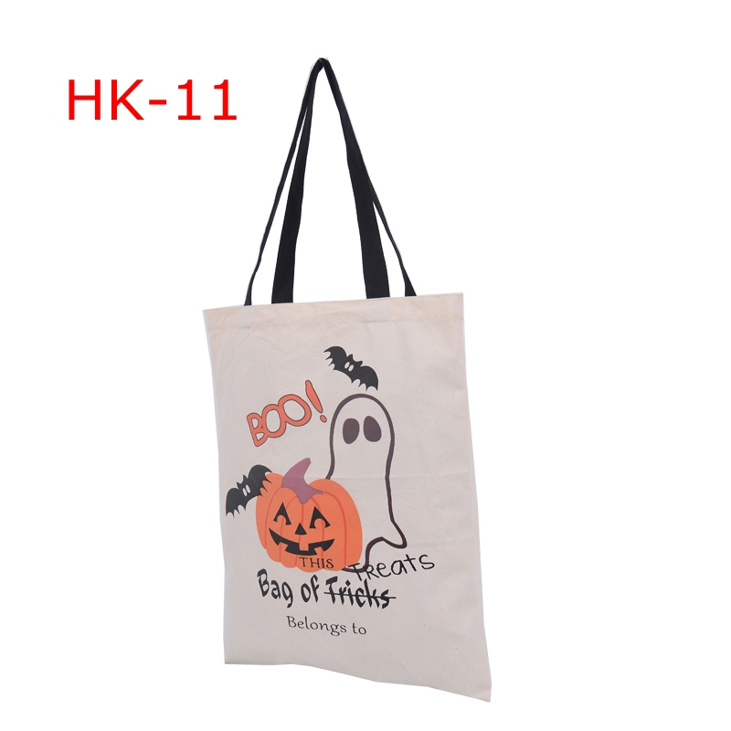 Aliexpress.com : Buy 10pcs 6 Types Halloween Tote Bags with Black ...