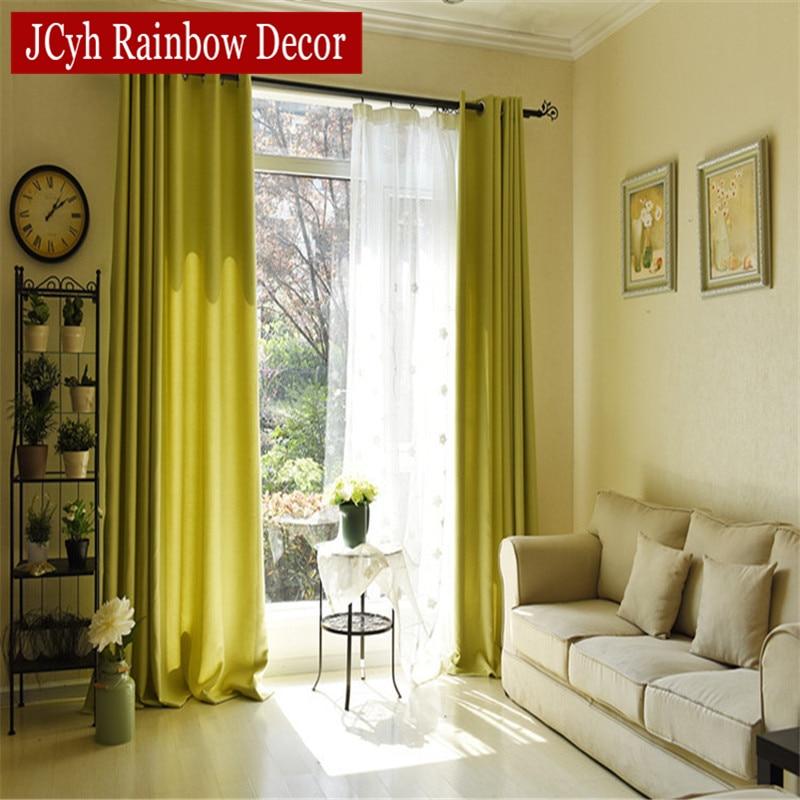 Soild Home Decor Κουρτίνες για καθιστικό Υπνοδωμάτιο Μπλε Πράσινο Παιδικά Κουρτίνες για Παιδιά Κουρτίνες Κουφώματα Κουφώματα