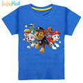 7 Types High Quality Kids New Cartoon Dog Print T-Shirts Cotton Boy Girls Tee Tops Clothing For Kids 2-6 Years 2017 Hot CMB131