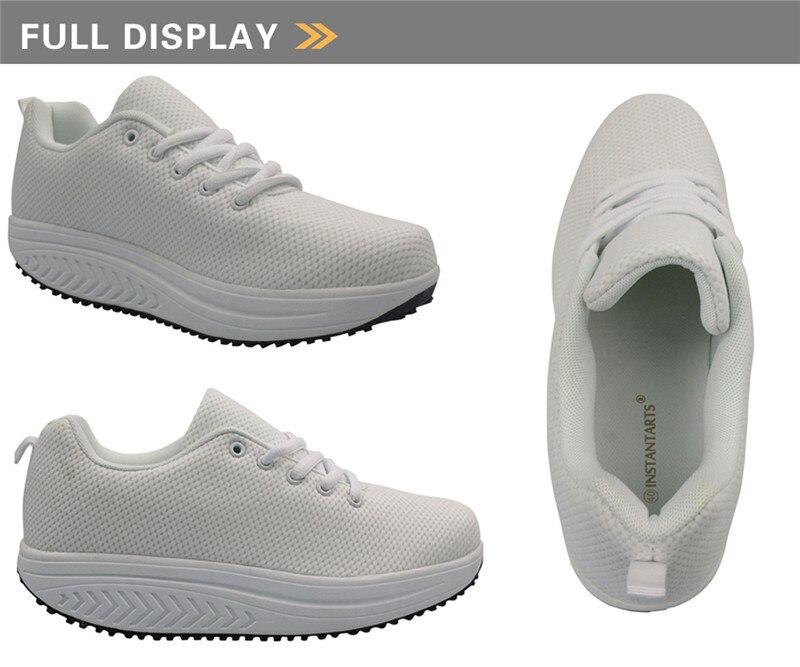 Animal Gato Impressão Altura Incresing Sapatos Tonificação