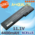 4400 mah batería para hp business notebook 2710 p 436426-311 436426-351 454668-001 593592-001 ah547aa bs556aa hstnn-cb45