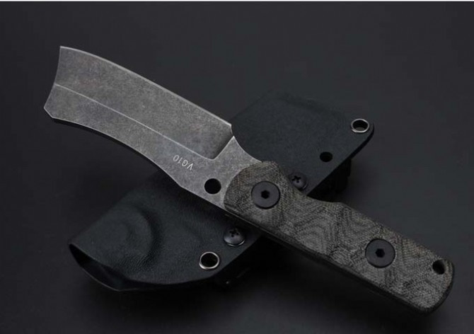 Buy Elaborate Stone Wash Hunting Fixed Knife VG10 Blade Flax Handle Small Survival Knife Handmade Utility Knife Tactical K Sheath cs cheap