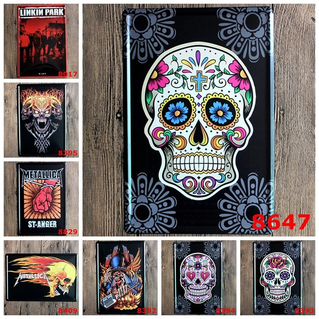 Wall Poster Metal Stickers Tin Sign Pub Club Gallery Tips Vintage Plaque Decor Plate New