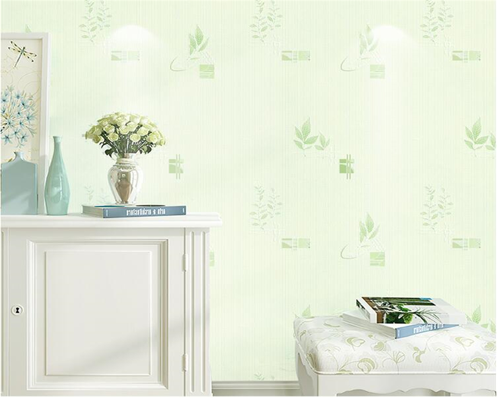 Beibehang Pastoral Small Floral Wallpaper Papel De Parede Pink