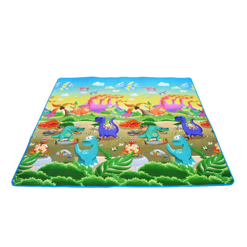 HTB1NdlJGY5YBuNjSspoq6zeNFXaJ 0.5cm Thickness Children's Rug Baby Playing Mats Soft EVA Foam Double Side Patterns Child Carpets For Kids Crawling Gym Mats