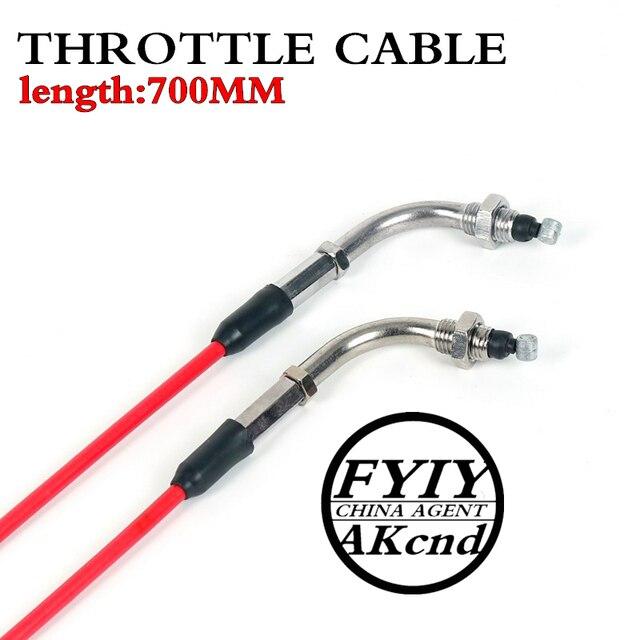 "FYIY motocykl 35.24 ""kabel przepustnicy do 50cc 125cc Dirt Bike D030 077"