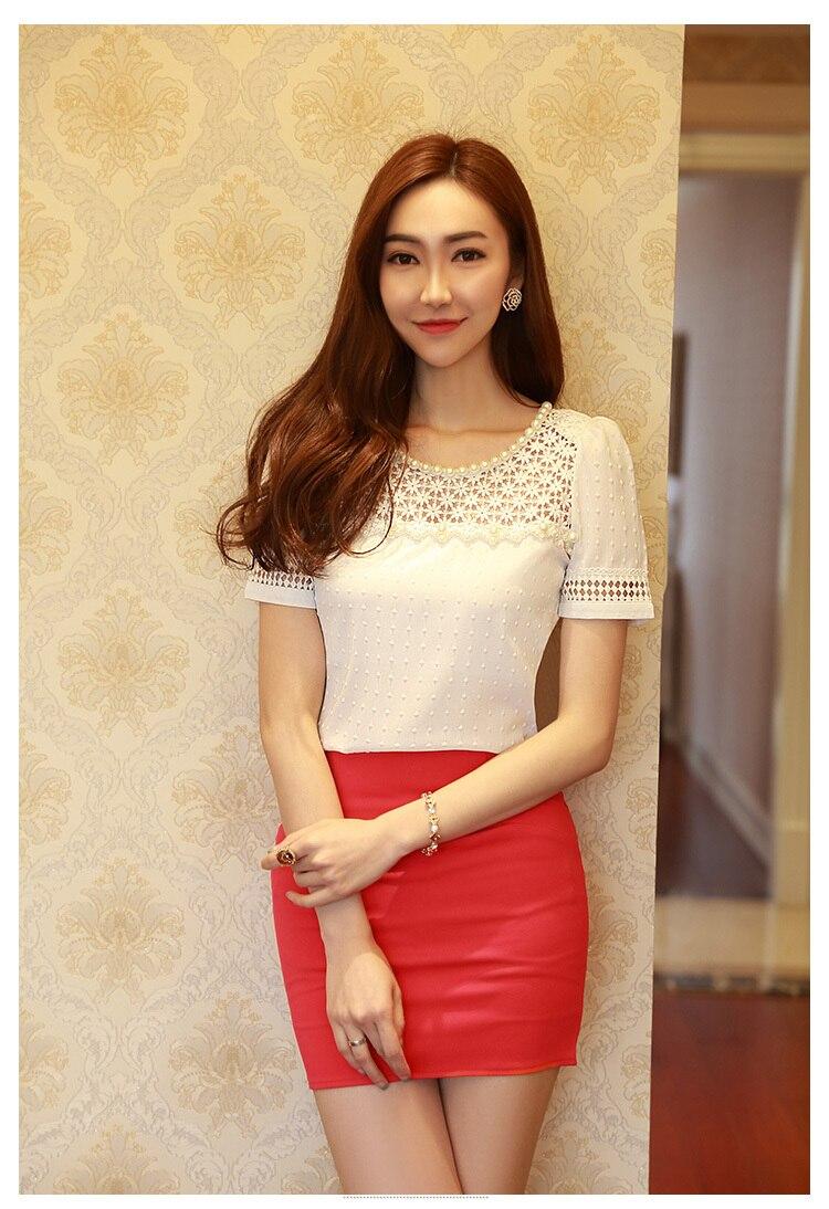 HTB1NdlnGFXXXXcdXpXXq6xXFXXXJ - 3D Lace Chiffon Blouse Shirt Women Clothing