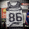 New 2018 Tank Top breathable summer fitness sleeveless leisure Vest T-shirt, train, 3D printing No.30 Curry men's vest 1915 2