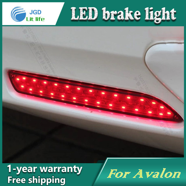 Car Styling Rear Per Led Brake Lights Warning Case For Toyota Avalon Accessories Good Quality