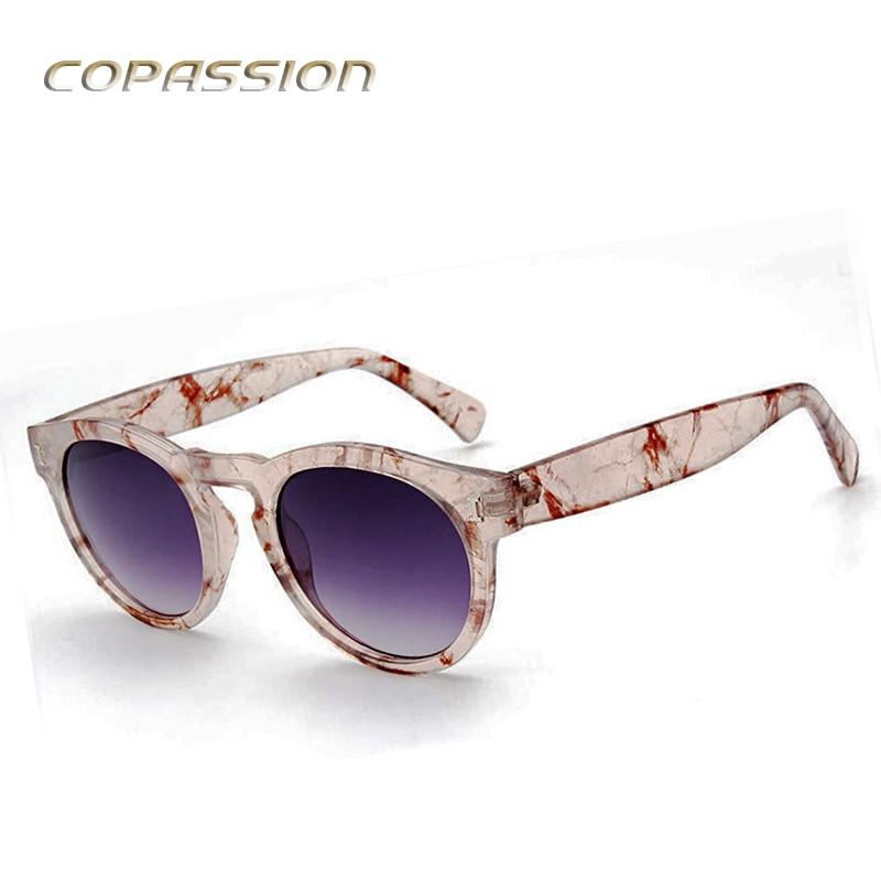 Round sunglasses women brand designer I Clear sunglass outdoor ladies sun glasses driver uv400 goggles oculos de sol feminino