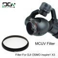 PGY HD MCUV Lens Filter for DJI Inspire 1 Quadcopter & DJI OSMO Handheld Stabilizer Original 3-Axis gimbal 4K Camera accessories