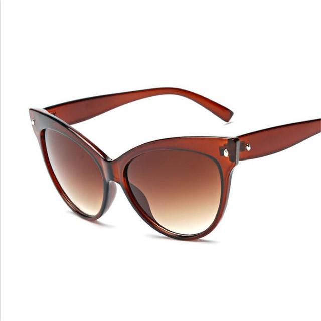 New Fashion Cat Eye Sunglasses Women Brand Designer Vintage Sun Glasses Female Ladies Sunglass Oculos De Sol Feminino Eyewear