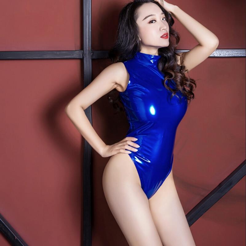 Sexy leotard suit