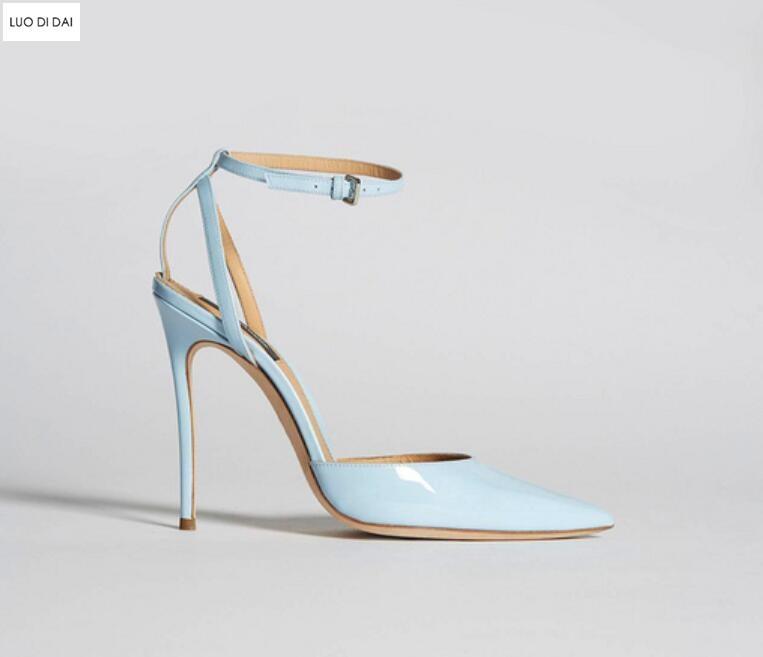 Online Shop 2020 New women blue high