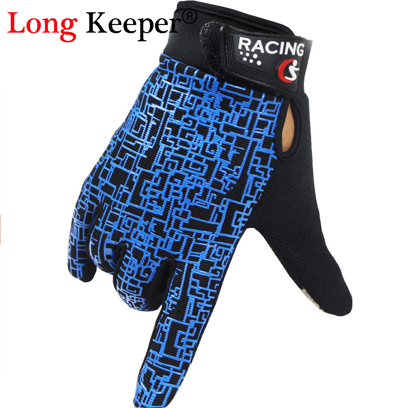 Long Keeper 2016 New Design Kiss Screen Gloves Full Finger Gloves For Men Women Winter Keep Warm Fitness Work Out Luvas M137