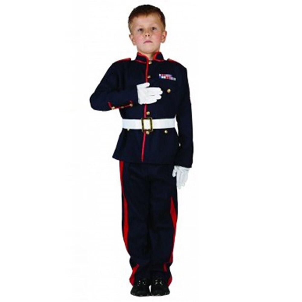 day costume russian guard soldier cosplay kids boy halloween costumes fantasia infantil children fancy dress