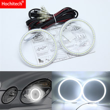 For Mercedes-Benz e class w211 E200 E220 E270 E280 E320 E420 CDI 2003-09 Ultra bright SMD white LED angel eyes halo ring kit(China)
