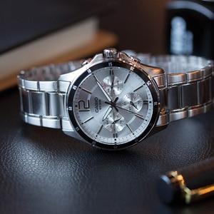 Image 5 - Casio erkek saati pointer serisi çok fonksiyonlu chronograph İş casual İzle erkek saati MTP 1374D 7A