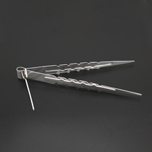 22cm Metal Shisha Hookah Charcoal Tongs Tweezers, or Water Pipe / Sheesha / Chicha / Narguile Accessories Gadget SH101