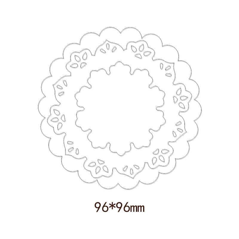 3 шт Скрапбукинг Весна цветение цветок металлические режущие штампы ремесло высечки новые штампы Подарочная открытка-коробка изготовление тиснение Рамка DIY