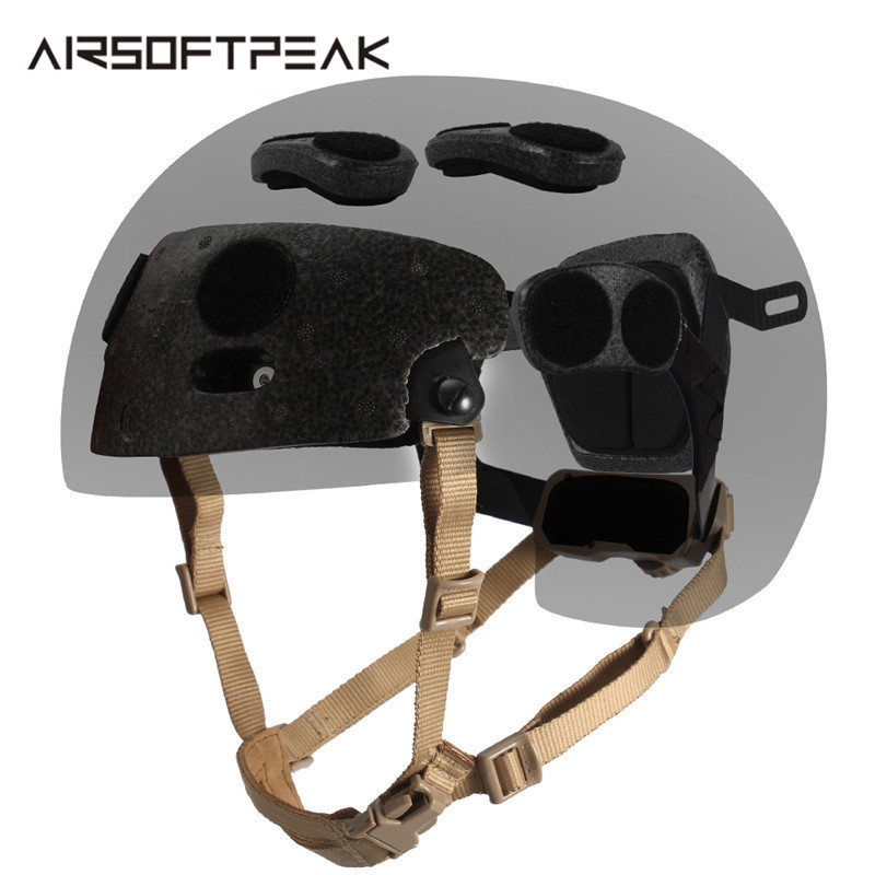 Tactical Dial Liner Kit Replacement for FMA FAST Helmet Military Hunting