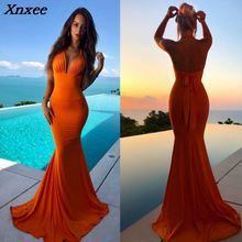 Fashion Sexy Backless Summer Long Dress Halter Neck Maxi Dresses Slim Dance Formal Evening Party Gown Vestidos