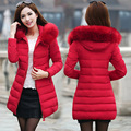 Womens Winter Jackets And Coats 2016 Thick Warm Hooded Down Cotton Padded Parkas For Women's Winter Jacket Female Manteau Femme