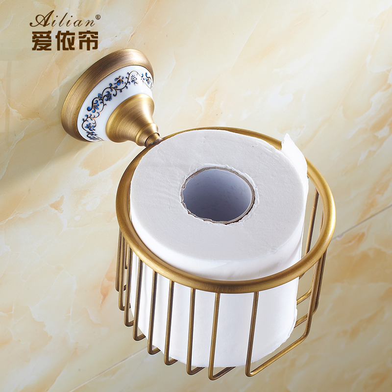 . White And Gold Bathroom Accessories