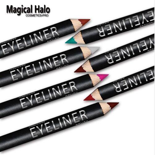 12pcs/set Colorful Eyeliner Pencil Set Lasting Eye Liner Pen Waterproof Professional Eye Pencil abh Makeup pinceis de  maquiagem