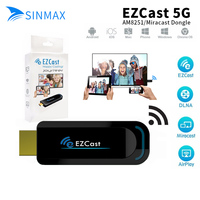 5G Dongle EZCast Smart Box TV Dongle DLNA HDMI Mirror2 Bezprzewodowy EZCast TV Stick Media Player Wsparcie Dla Iphone Android Miracast