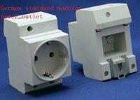 German rail socket ,German standard modular power outlet