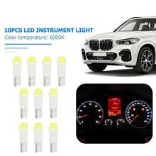 Wedge-Bulbs Light-Indicator Reading-Lamp Dashboard-Instrument Car-Interior 12V COB T5