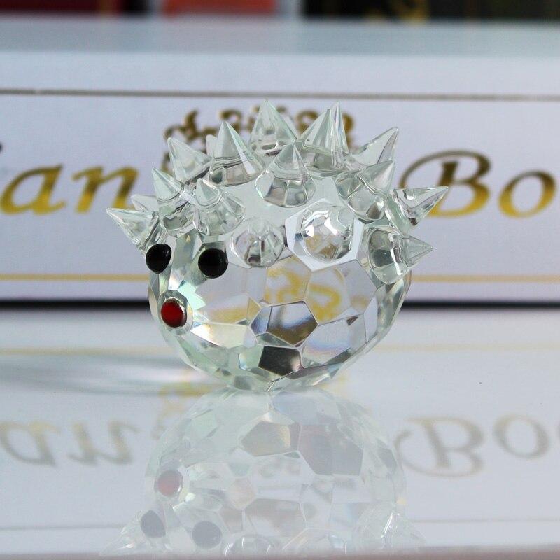 XINTOU Crystal Glass Animals Ոզնին Նկարներ - Տնային դեկոր - Լուսանկար 1